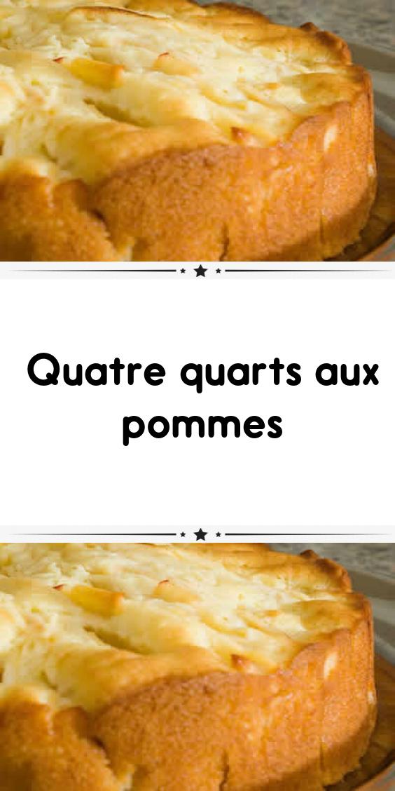 Quatre quarts aux pommes #quatrequart