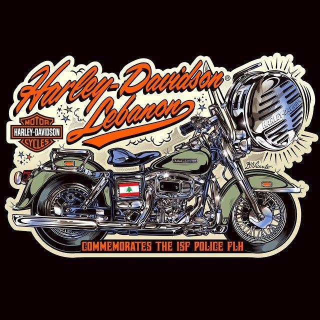 Design Harley-Davidson Lebanon...2014 #Padgram