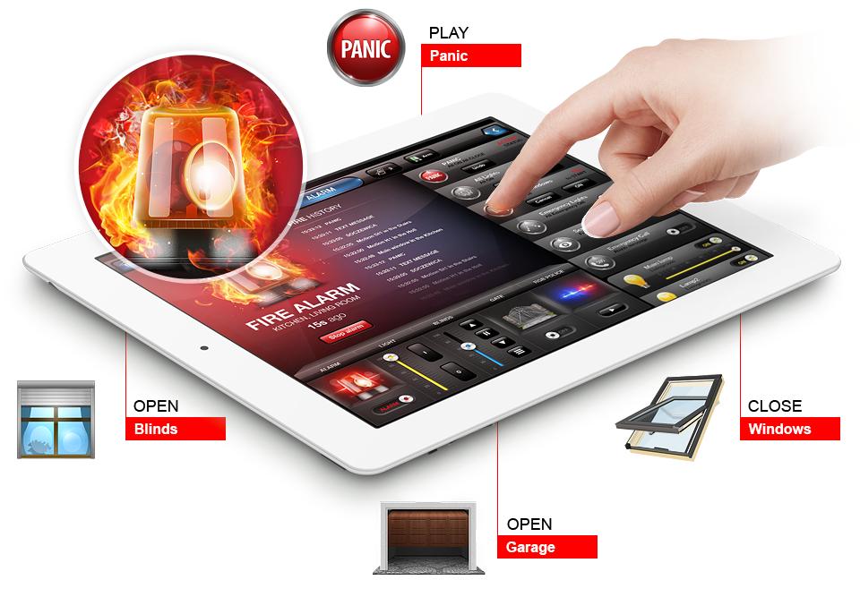 Smoke sensor | Fibaro - Z-Wave smart home solution
