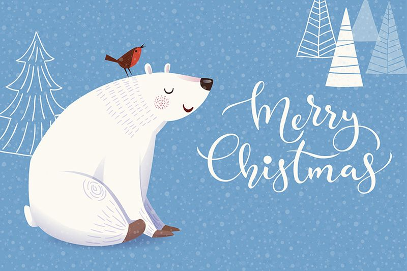 Check out this @Behance project \u201cChristmas greeting cards design