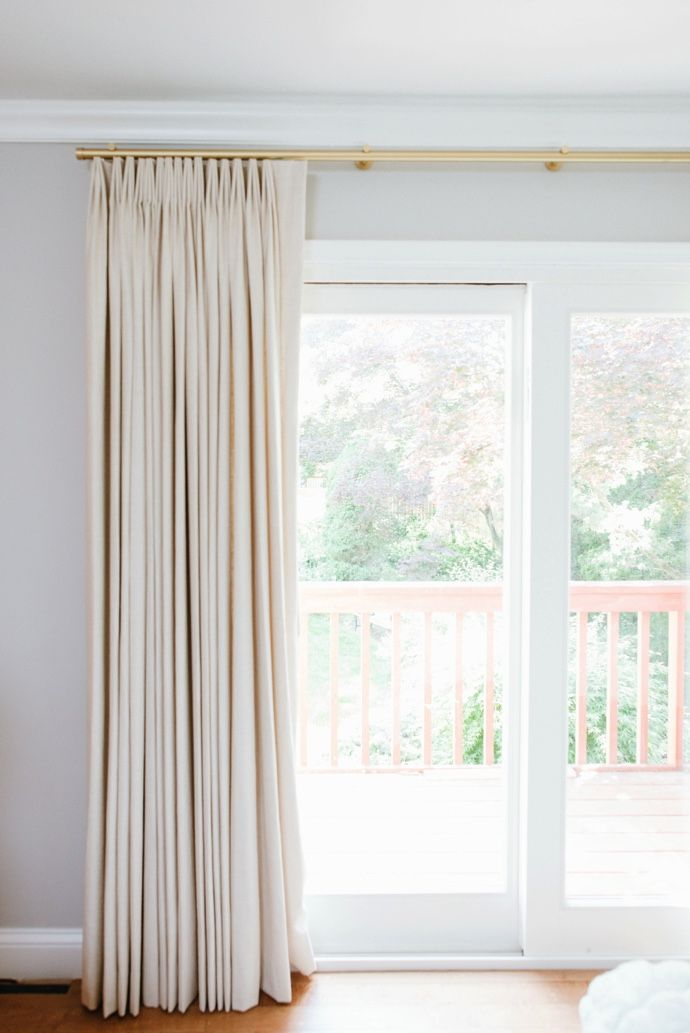2017 One Room Challenge REVEAL Apartamentos pequeños, Sala de - cortinas para ventanas