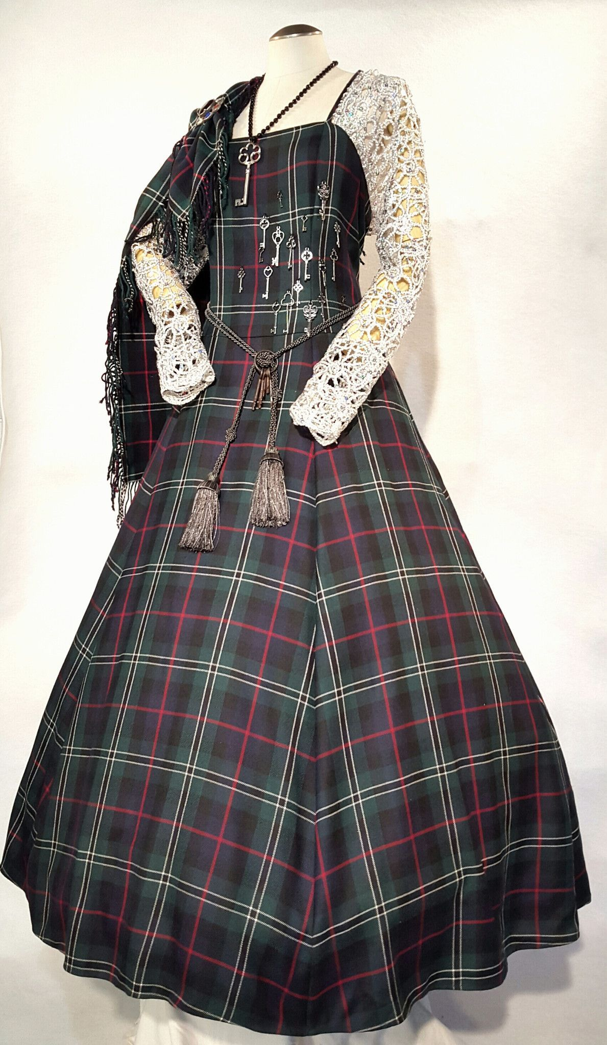 Key, Tartan (Plaid) Ball Gown | everything plaid | Pinterest ...