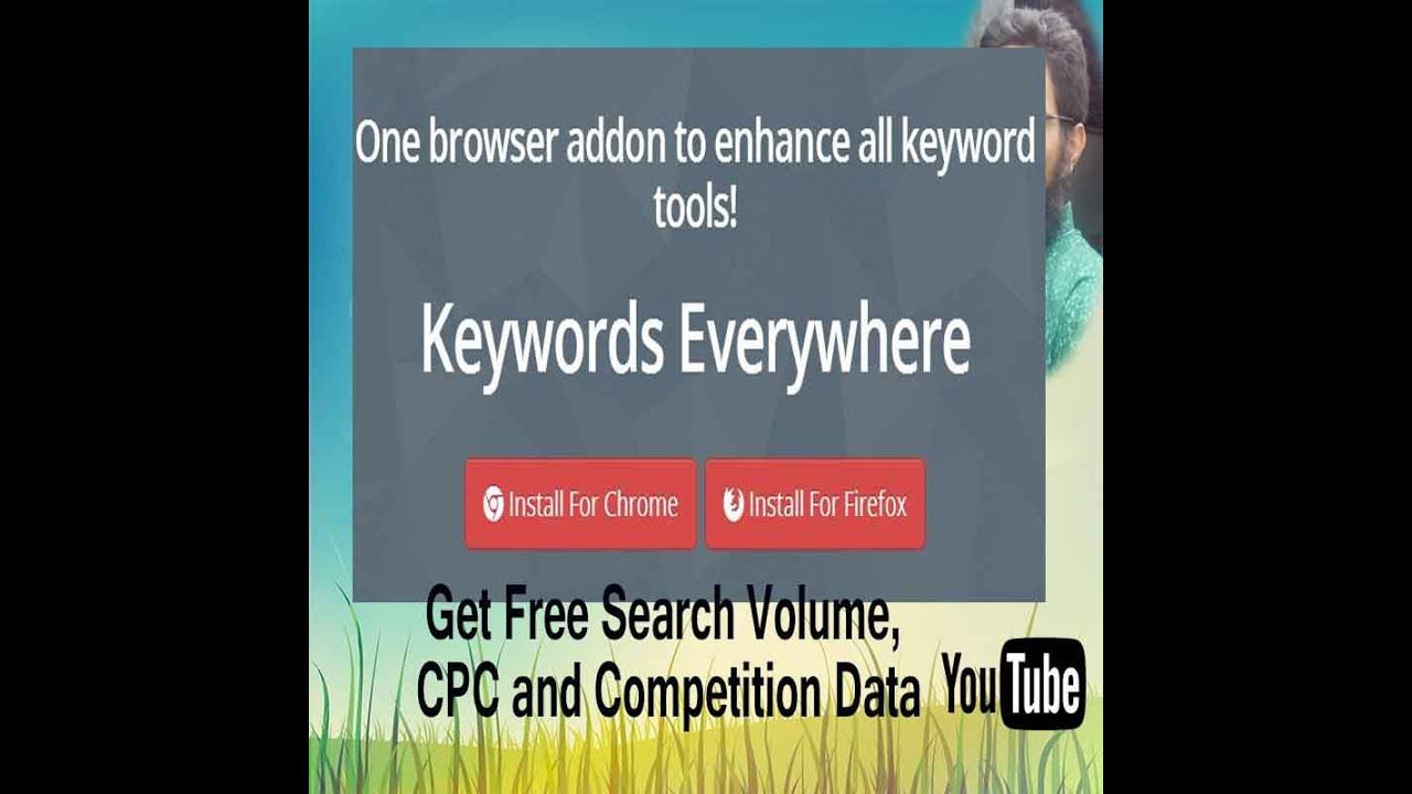 Keywords Everywhere 6 0 Review How To Get Free Search Volume Cpc And Competition Data Tutorial 123 Youtube Competition Free