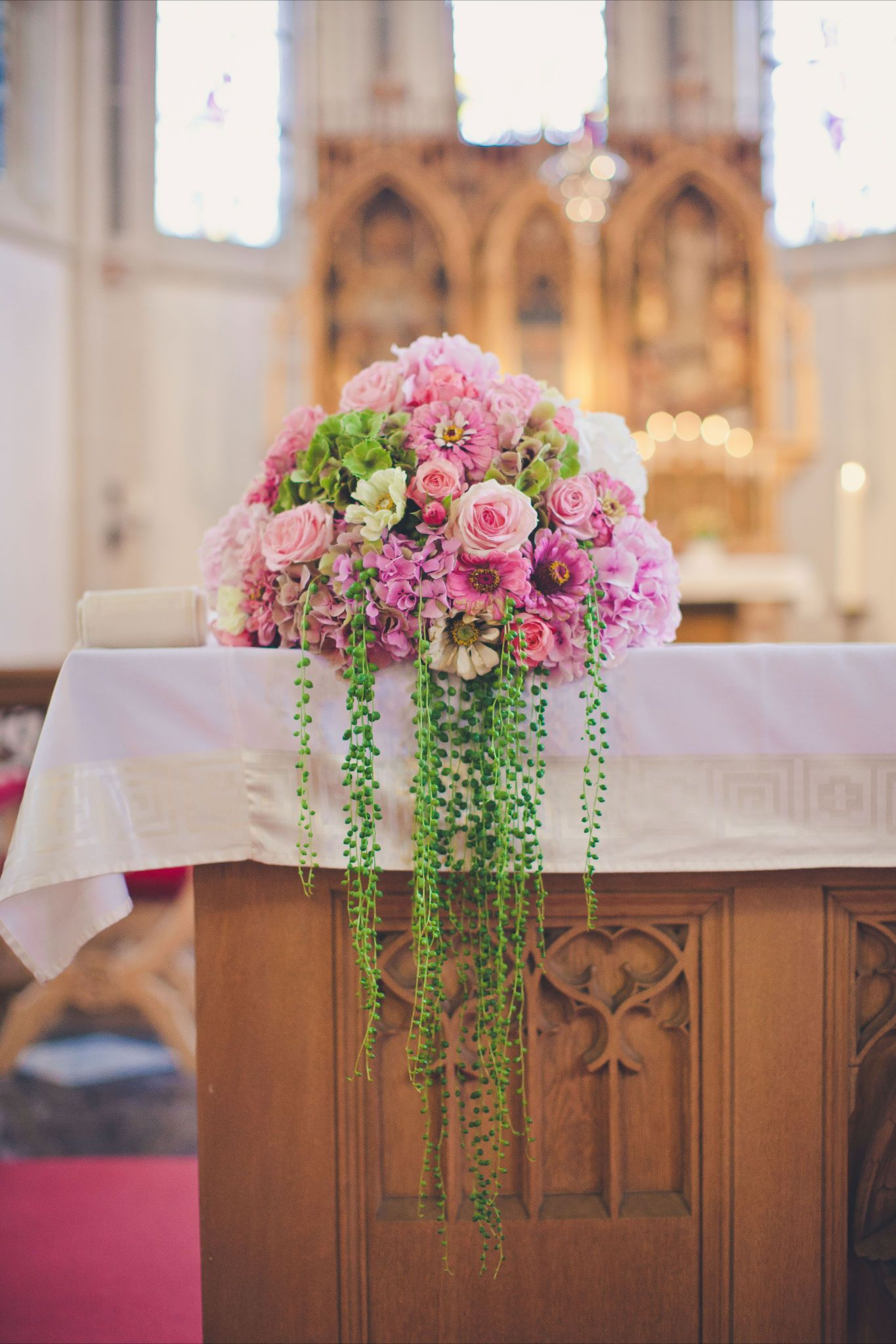 Altargesteck Church Altar Floral Arrangement Etc Tralala