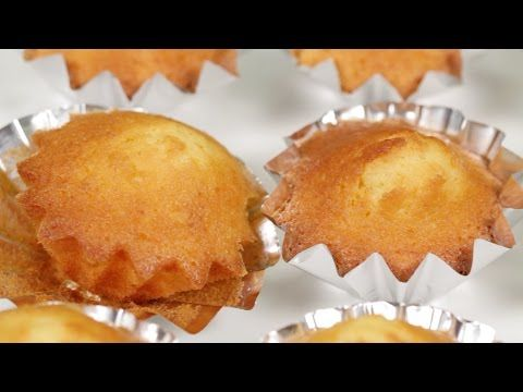Madeleines Small French Cake Recipe マドレーヌの作り方 簡単お菓子レシピ You
