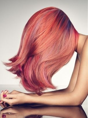 Multi Tonal Pink And Copper Hair Color Pink Hair Hair