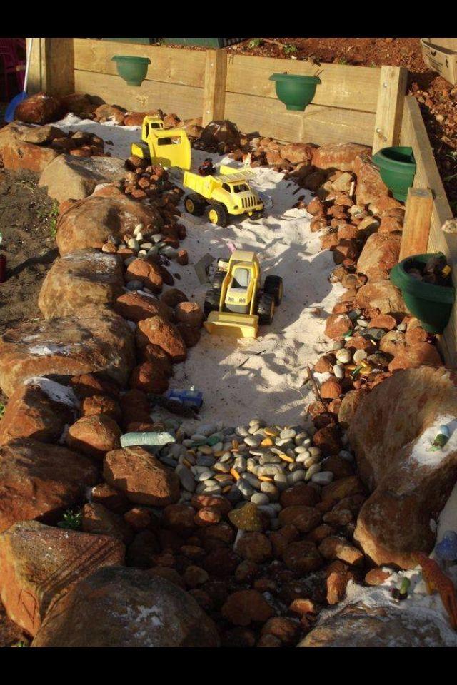 Truck Pit Liam Kinder Spielplatz Garten Kinder Garten Und Garten Spielplatz