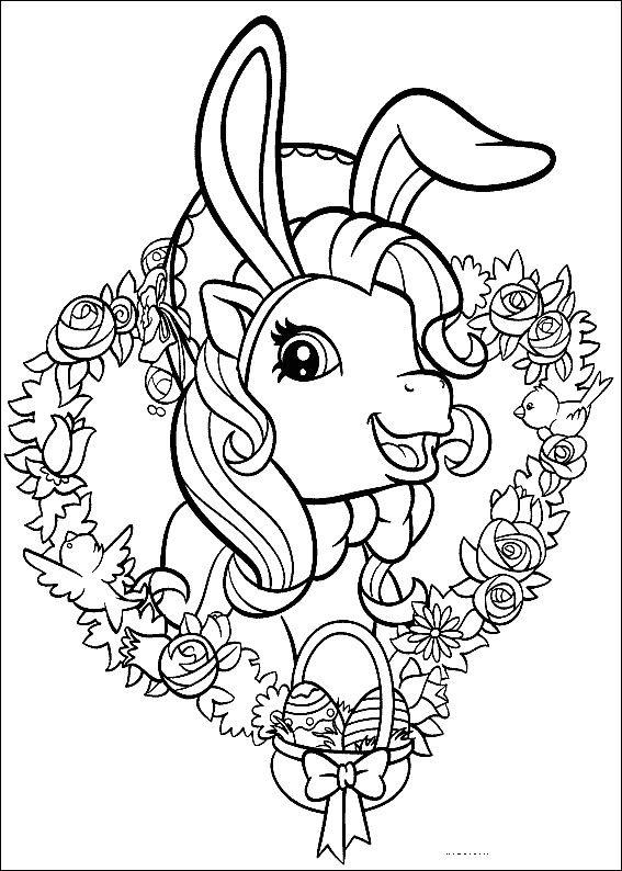 Dibujos para Colorear Mi pequeño Pony 16 | Adult coloring pages ...