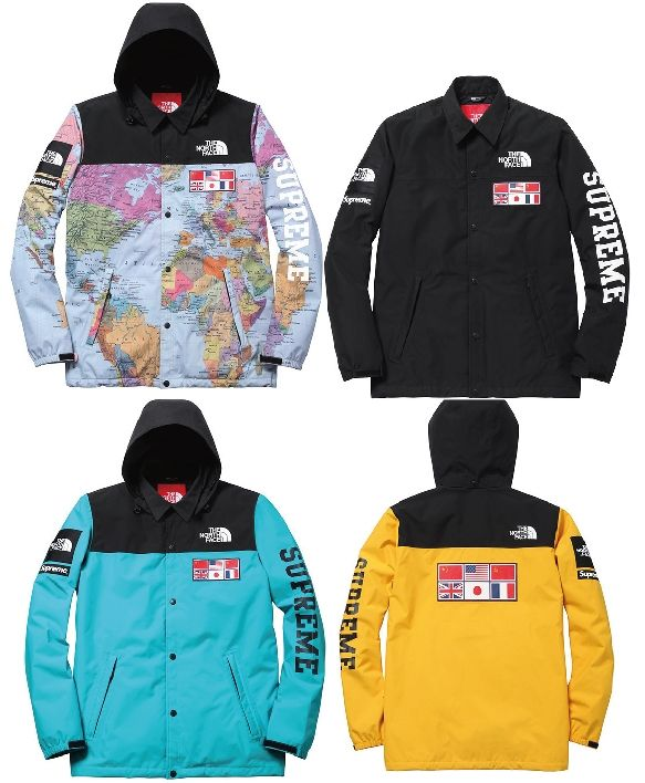 2014SS Supreme x The North Face Expedition Coaches Jacket  87c8642528