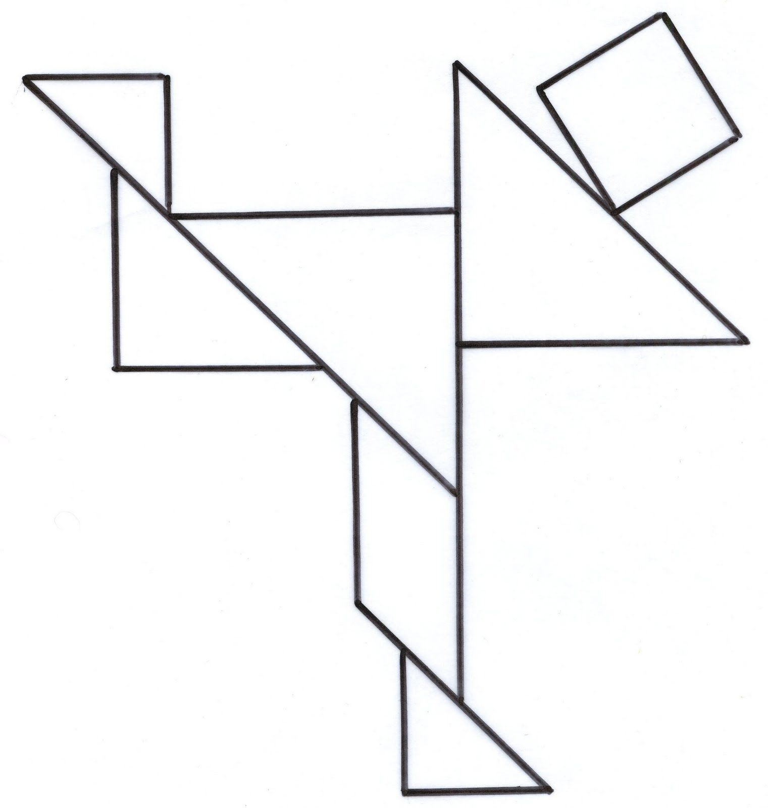 worksheet Tangram Worksheet tangram02 jpg pinterest jpg