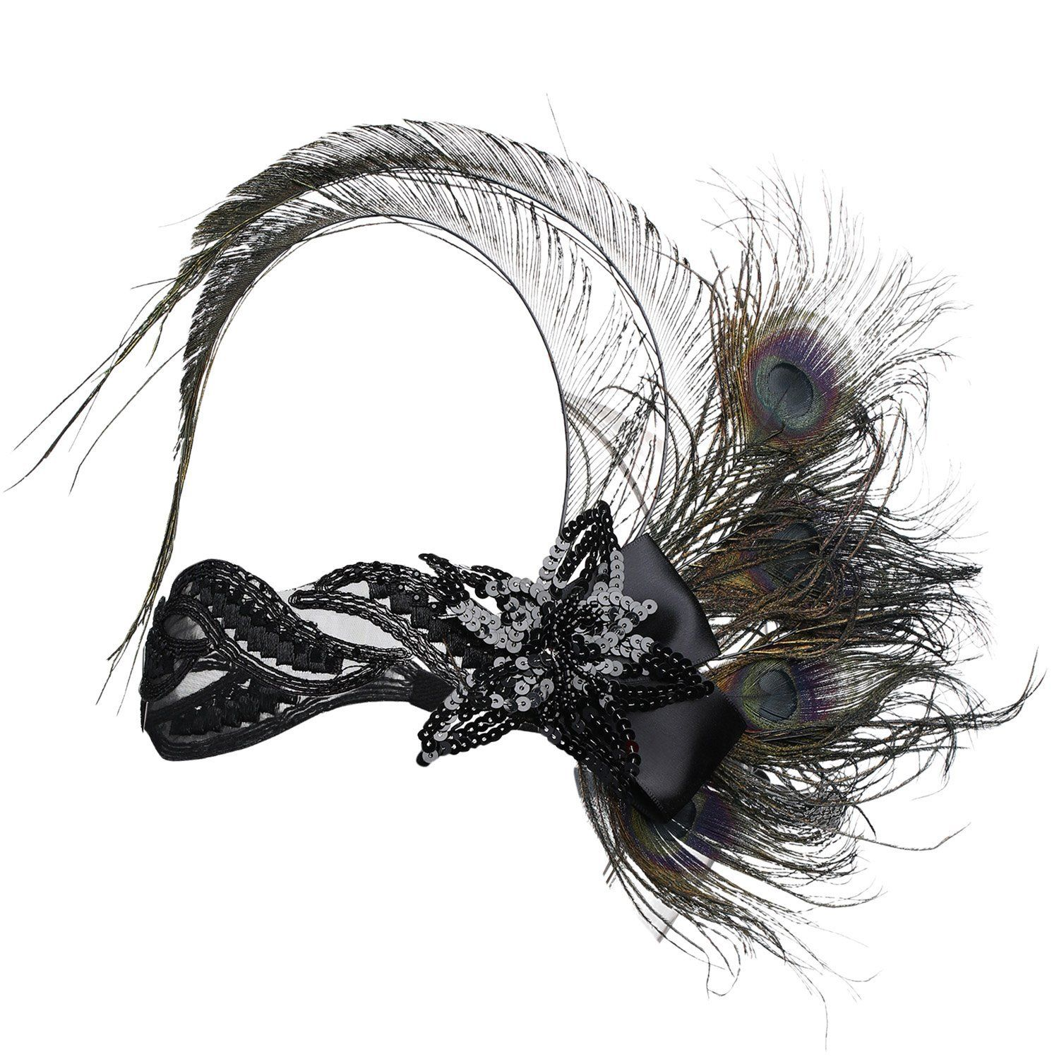 1920s Flapper Hair Accessories Great Gatsby Headpiece|JaosWish #flapperhair