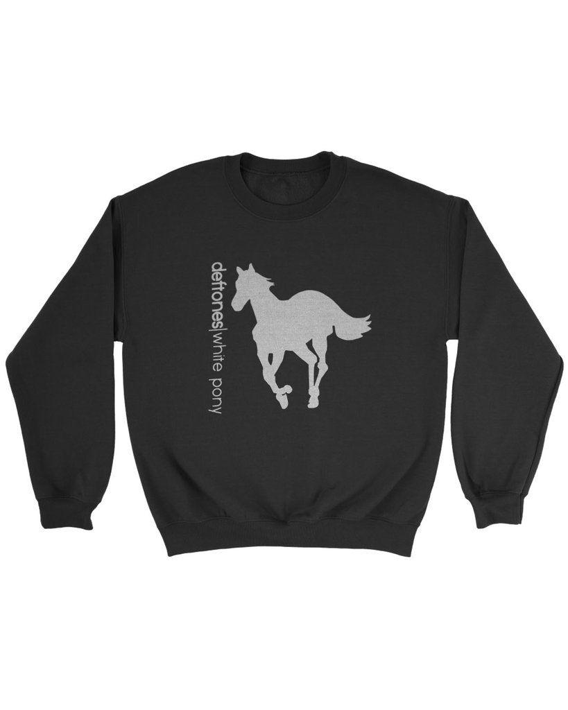 Deftones White Pony Sweatshirt Pony Sweatshirt Sweatshirts Deftones White Pony [ 1024 x 819 Pixel ]