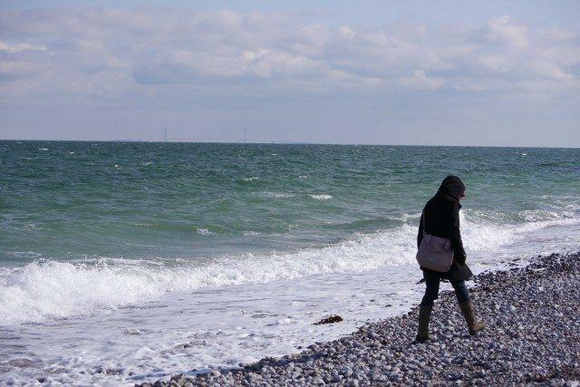 Woman At The Beach 2, Denmark