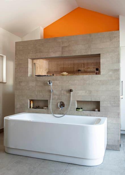 Badezimmer Ideen, Design und Bilder Moderne badezimmer, Gladbach - badezimmer 50er jahre