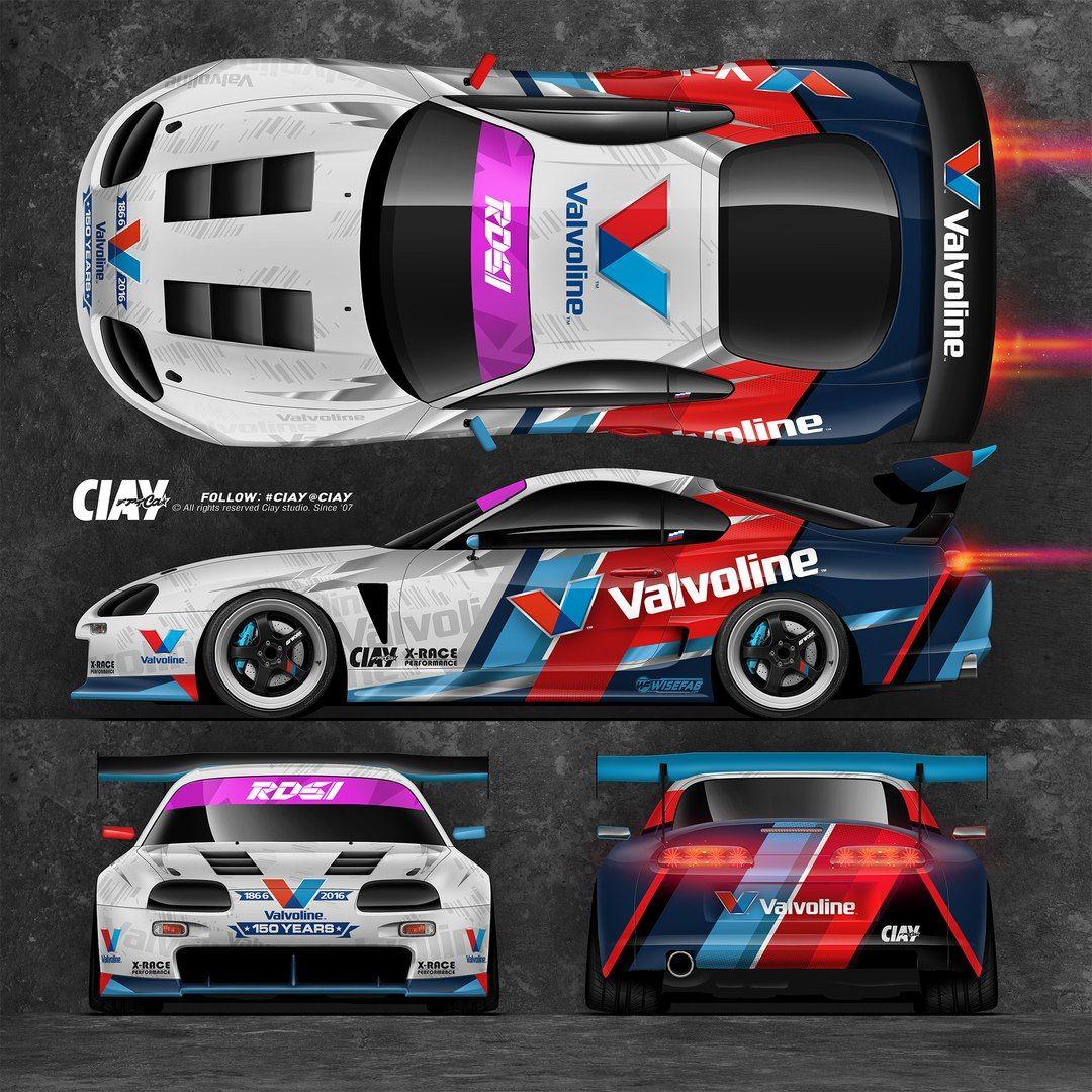 Ciay studio racing car design car stickers car decals car wrap vehicle