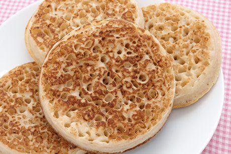 Original British Crumpets-Rezept #grilleddesserts