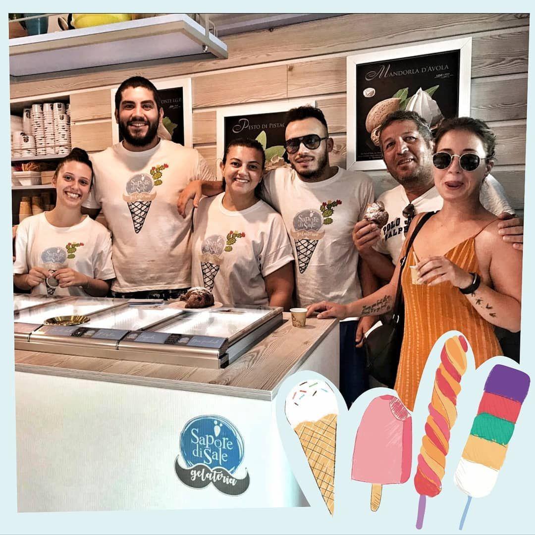 Squadra che vince!? ℕ 𝕆 ℕ 𝕊 𝕀 ℂ 𝔸 𝕄 𝔹 𝕀 𝔸 💪🏼 #gelato #icecream #gelateria #food #foodporn #instafood #dessert #italy #italia #sicilia #love #foodie #icecreamporn #des
