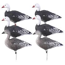 Avery Ghg Pro Grade Full Body Blue Goose Actives 6 Pack Decoy Full Body Dakota Decoys