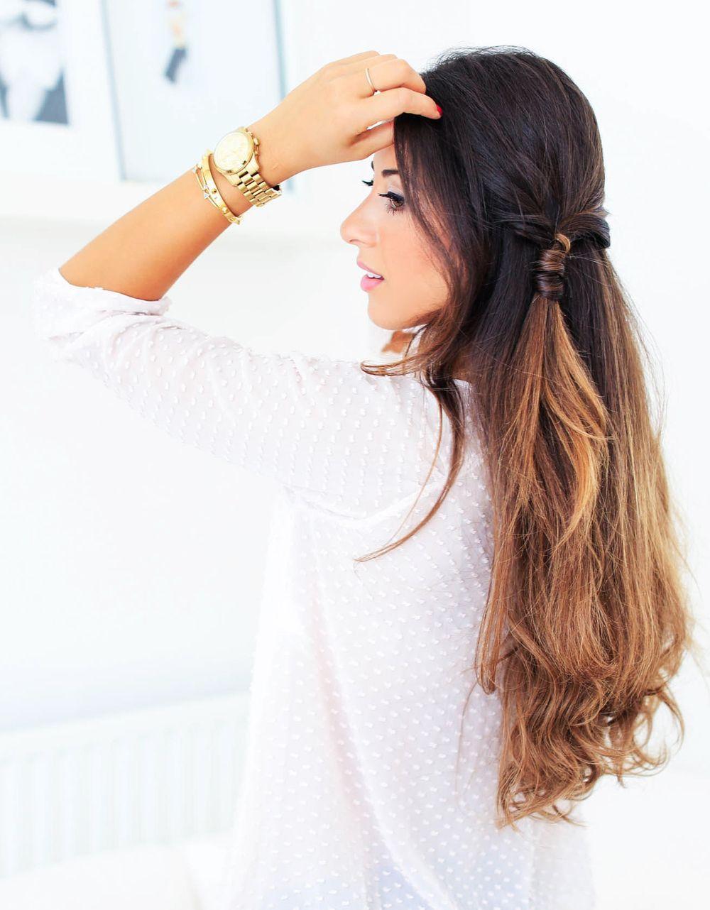 Cute everyday hairstyle diyhairstyles diy hairstyles pinterest