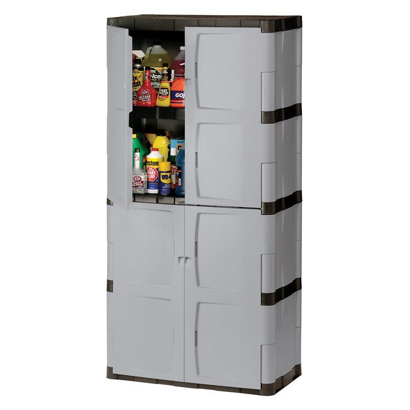 Rubbermaid Full Double Door Cabinet Products Tall Cabinet