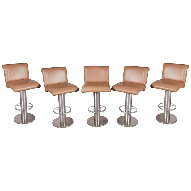 Five Modern Style Barstools Manufactured By Design For Leisure