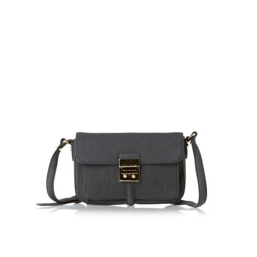 French Connection Colville Leather Crossbody  Womens  Bag - Twinkle, $144.54