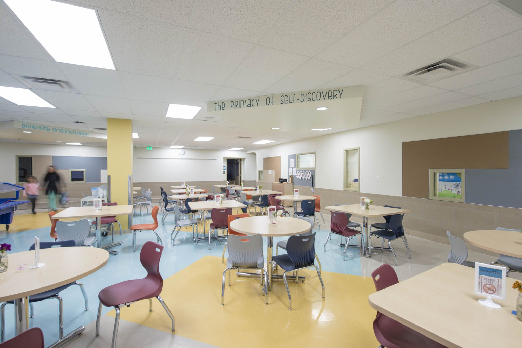 Emily Griffith Campus, Downtown Expeditionary School, Denver Public Schools,  Vertical Campus Architecture: Hord | Coplan | Macht Interior Design: Hord  ...