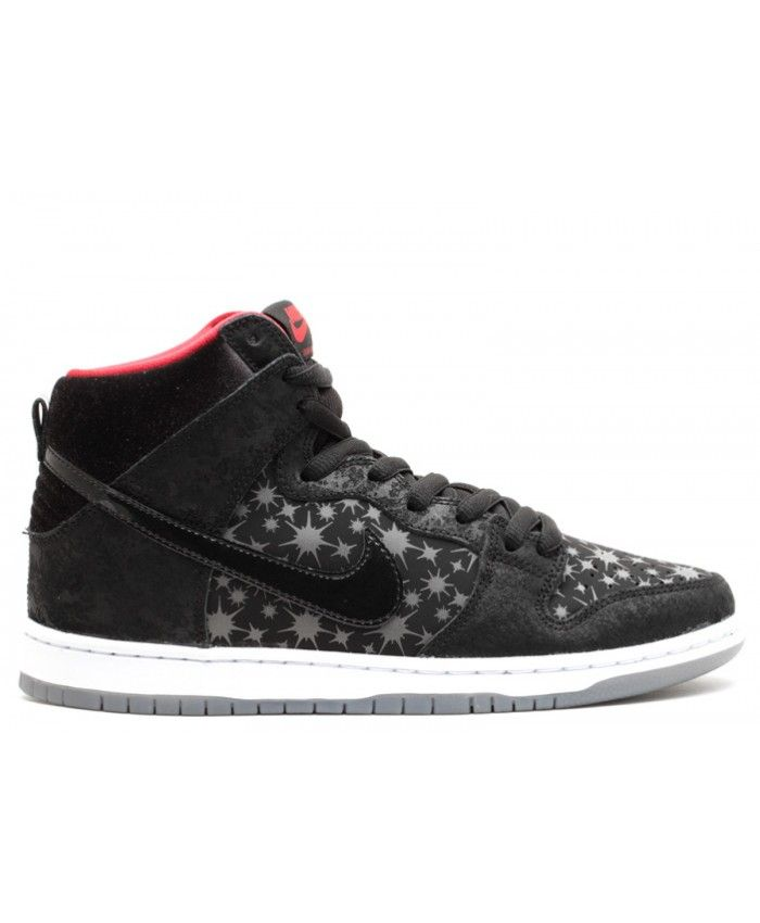 Nike Unisex's Skate Shoes Dunk High Premium SB Black / Black