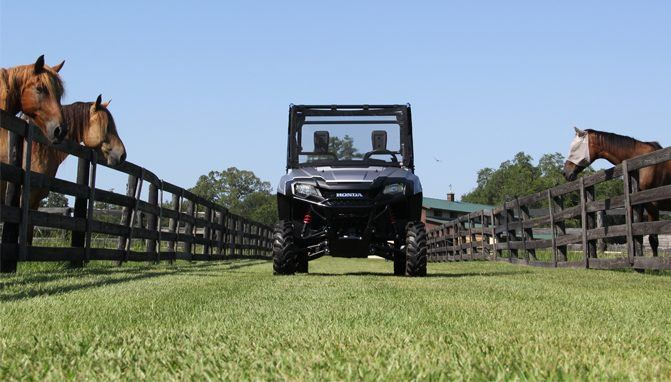 Top Seven Uses For A Utv On A Farm Or Ranch Atv Com Farm Recreational Activities Horse Ranch