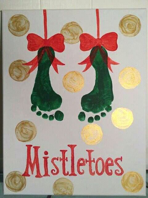 cute kids christmas art craft for the holidays