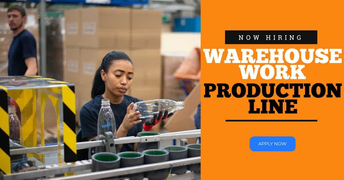 Nowhiring Warehouse Work 10 11 Hr Start Now Manufacturing Employment Miami Fl At Geebo Gl Staffing Is Hiring Many Warehou Online Jobs Warehouse Work