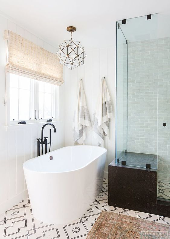 This Master Bath Remodel Will Show You How You Can Have An Upscale Bathroom  Design A Small Budget. Master Bathroom Ideas|Farmhouse Bathroom|Master  Bathroom ...