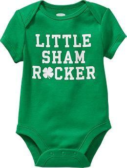 9755f3535 St. Patricks Day Graphic Bodysuits for Baby | Etta | St patrick day ...