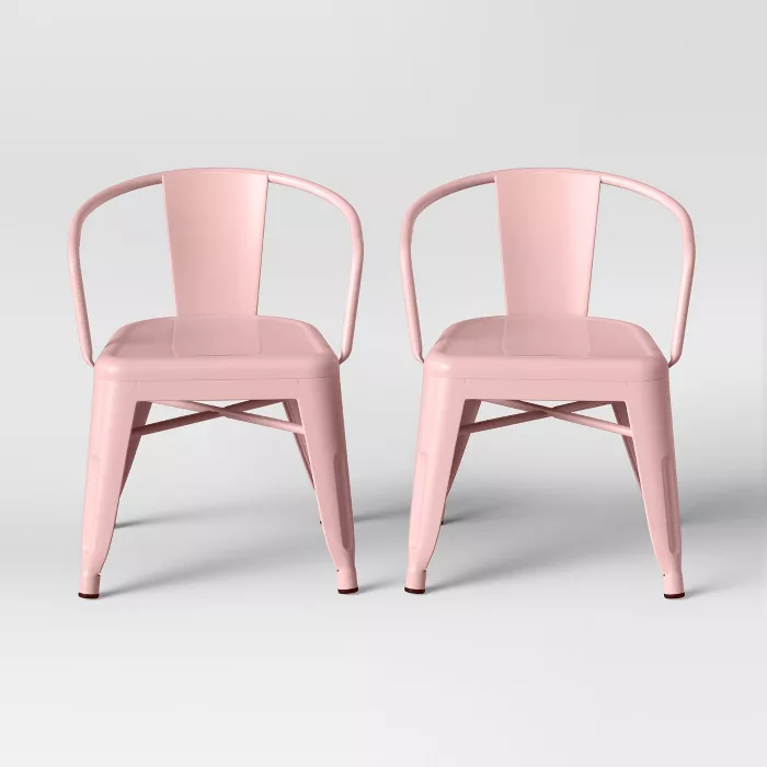 Set of 2 Industrial Activity Chairs - Pillowfort™