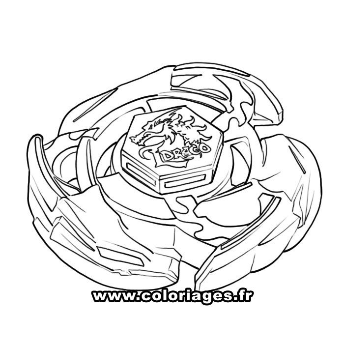 beyblade coloring pages ldrago - photo#3