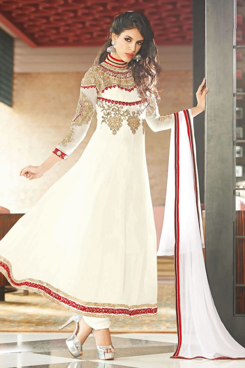 Heavy embroidery extra long anarkali suit anarkali salwar kameez