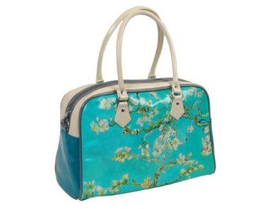 c905c97bf005 Amazon.com: Vincent Van Gogh Almond Blossoms Travel Handbag ...