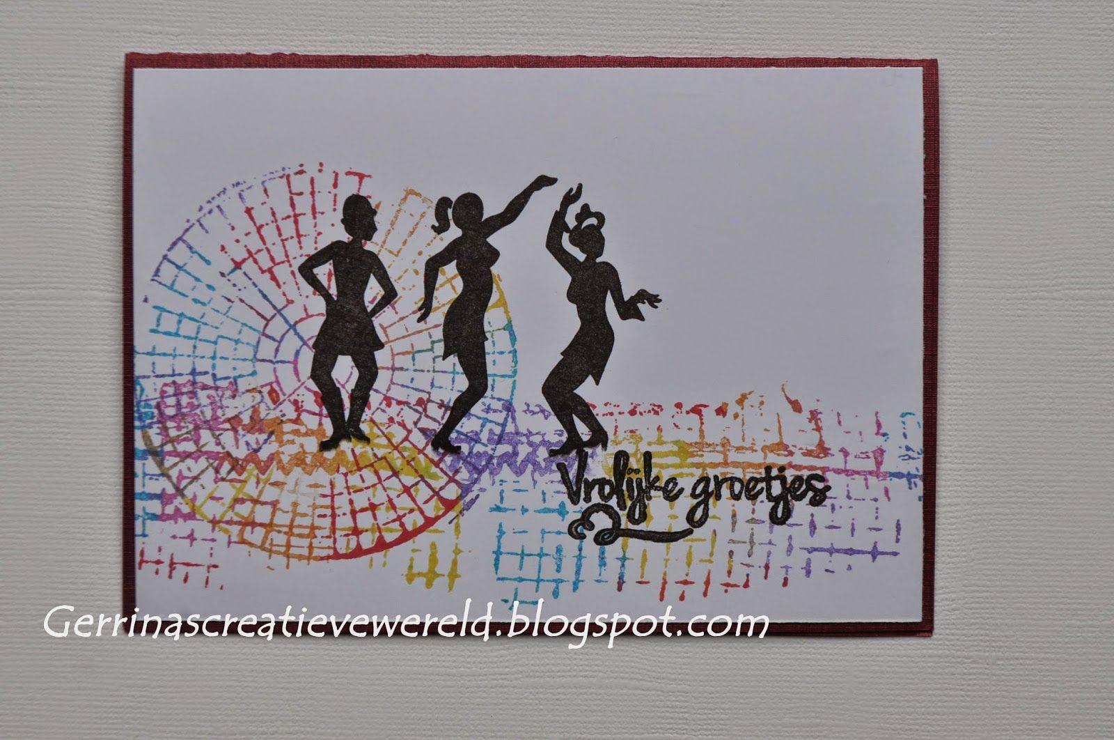 Gerrina's Creatieve Wereld: Bonte kleuren 4 / Varicoloured 4