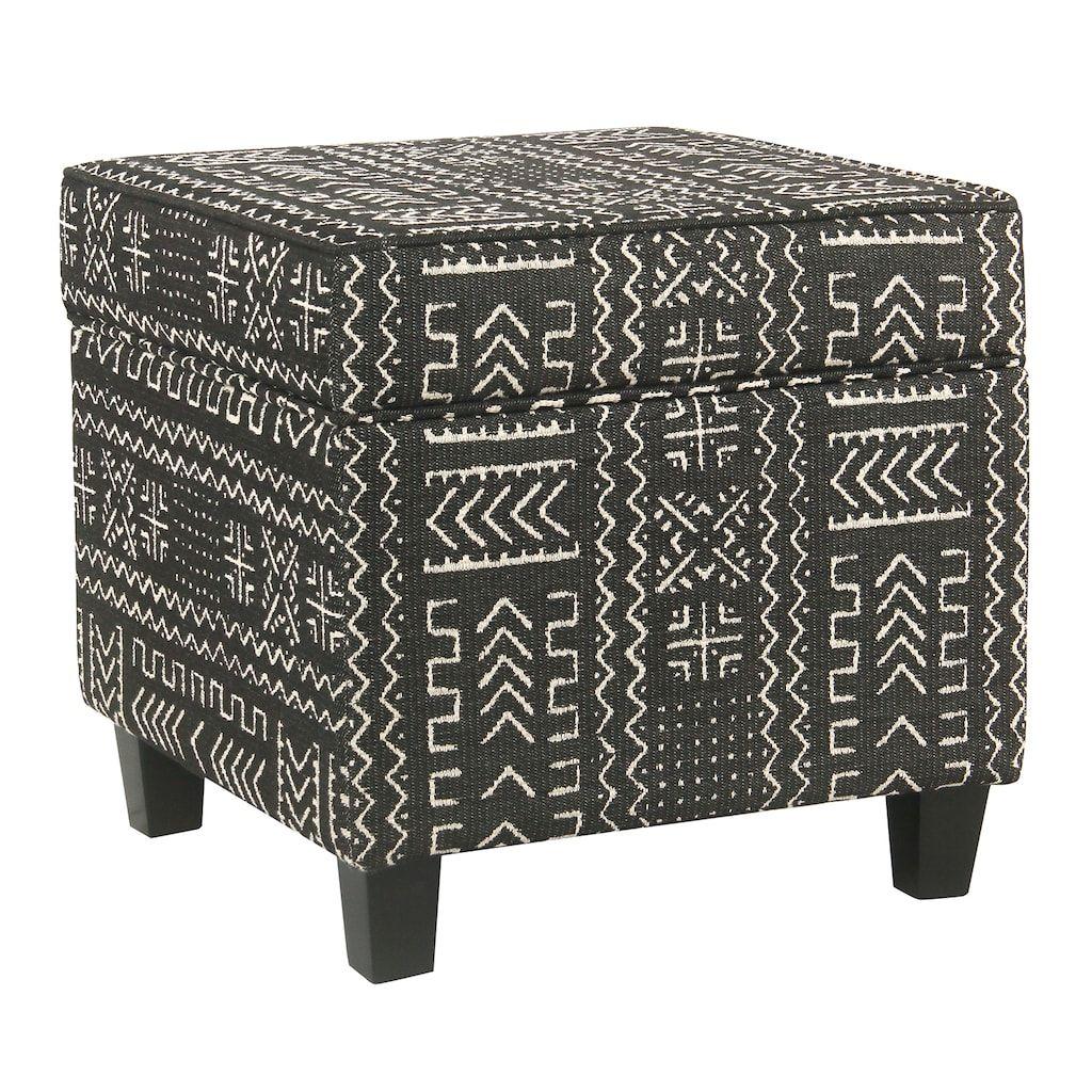 Admirable Homepop Cole Classics Square Storage Ottoman Products Creativecarmelina Interior Chair Design Creativecarmelinacom