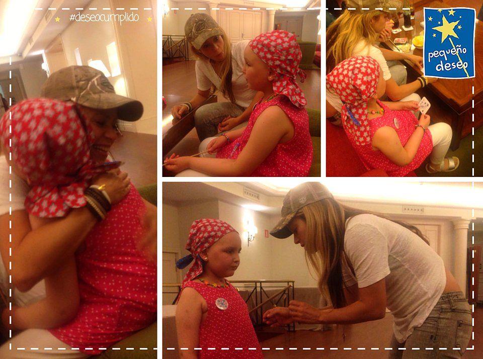 Shakira ♥ Menuda sorpresa se llevó Inés cuando entró en una sala y ¡¡apareció su gran ídolo @shakira!!  #deseocumplido 😍🌟 ♥ 18/07/2016
