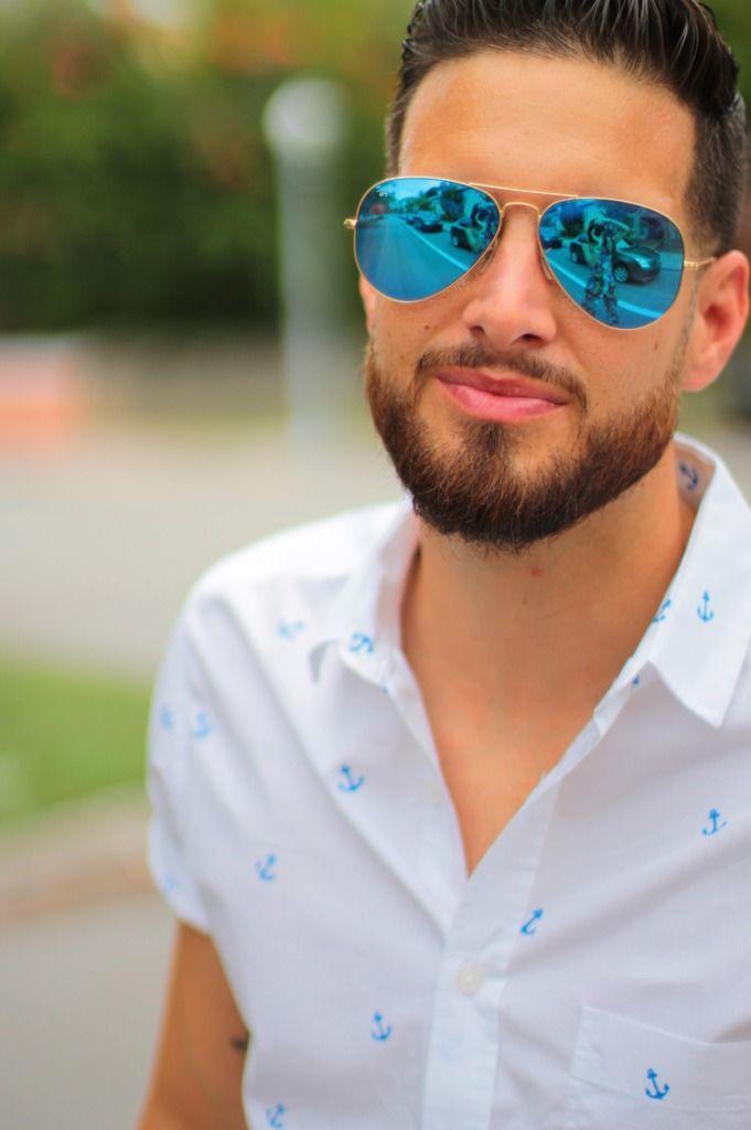 Maroon Shorts White Topman Blue Anchor Shirt Blue Ray