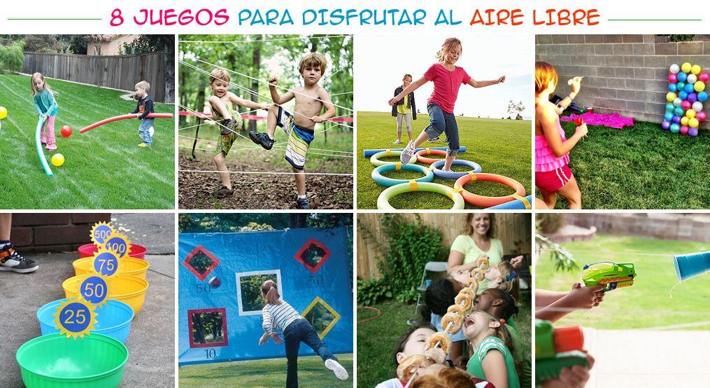 M s chicos 8 juegos para disfrutar al aire libre pinteres for Juegos para jardin nios