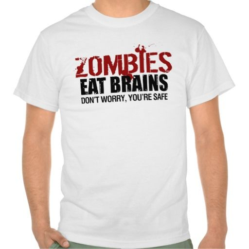 >>>Hello          Zombies Eat Brains T-shirts           Zombies Eat Brains T-shirts online after you search a lot for where to buyReview          Zombies Eat Brains T-shirts please follow the link to see fully reviews...Cleck Hot Deals >>> http://www.zazzle.com/zombies_eat_brains_t_shirts-235530923128329697?rf=238627982471231924&zbar=1&tc=terrest