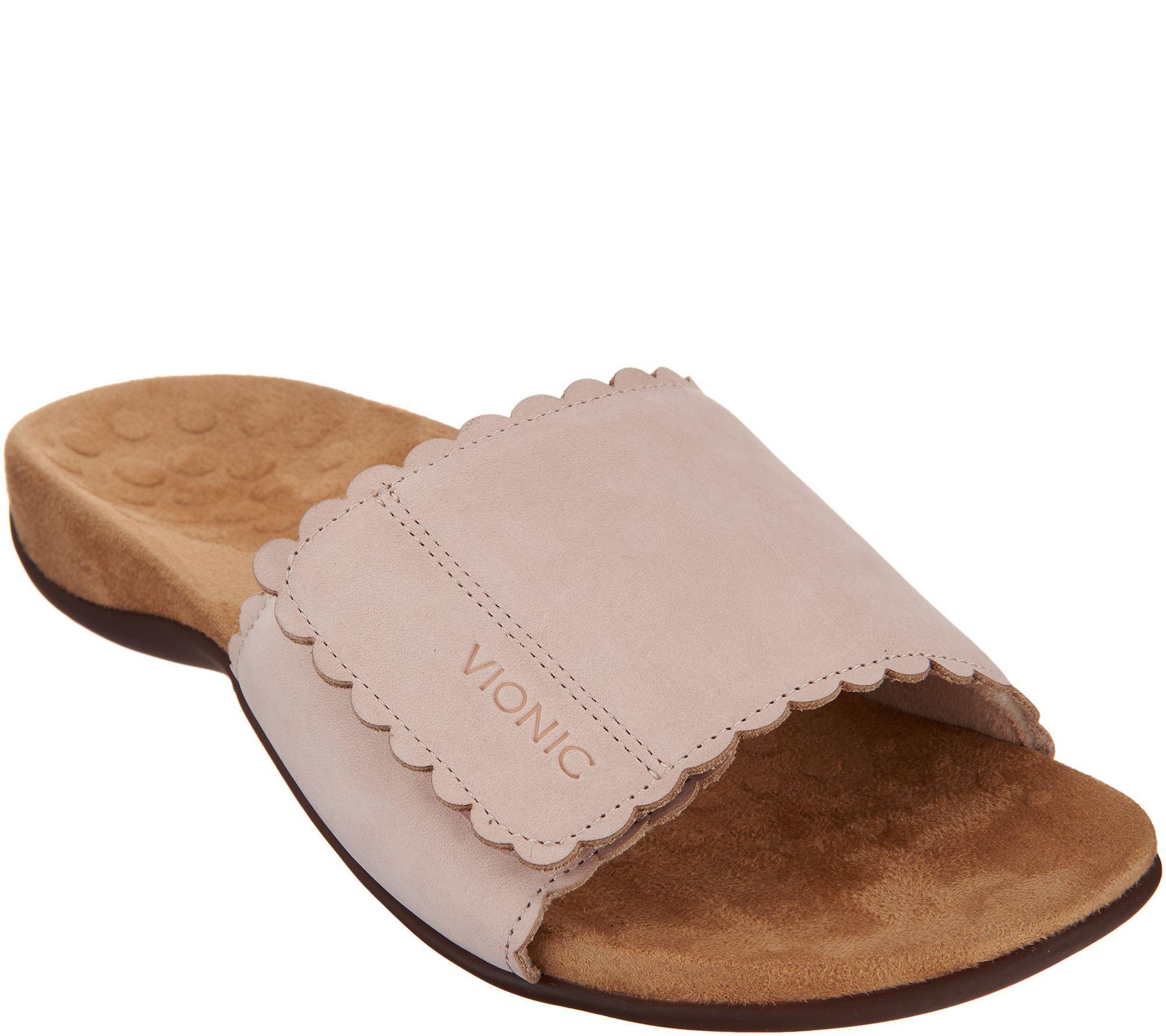 QVC | Sandals, Vionic, Slide sandals