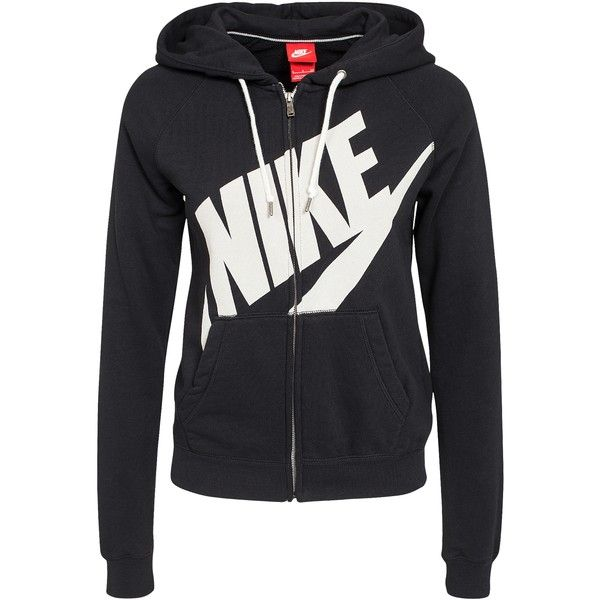 3f76c75b2fcd Nike Rally Fz Hoody-Logo ( 87) ❤ liked on Polyvore featuring tops ...