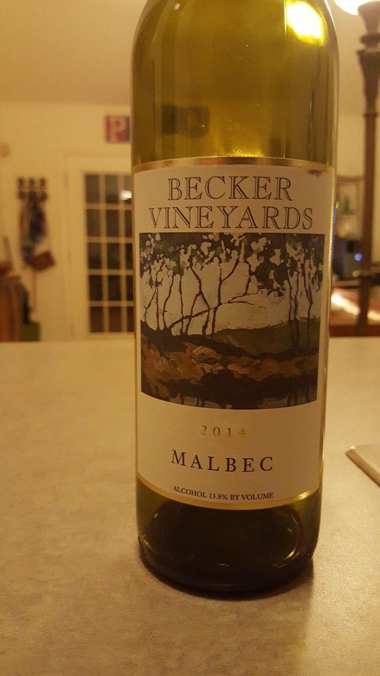 Becker Vineyards 2014 Malbec