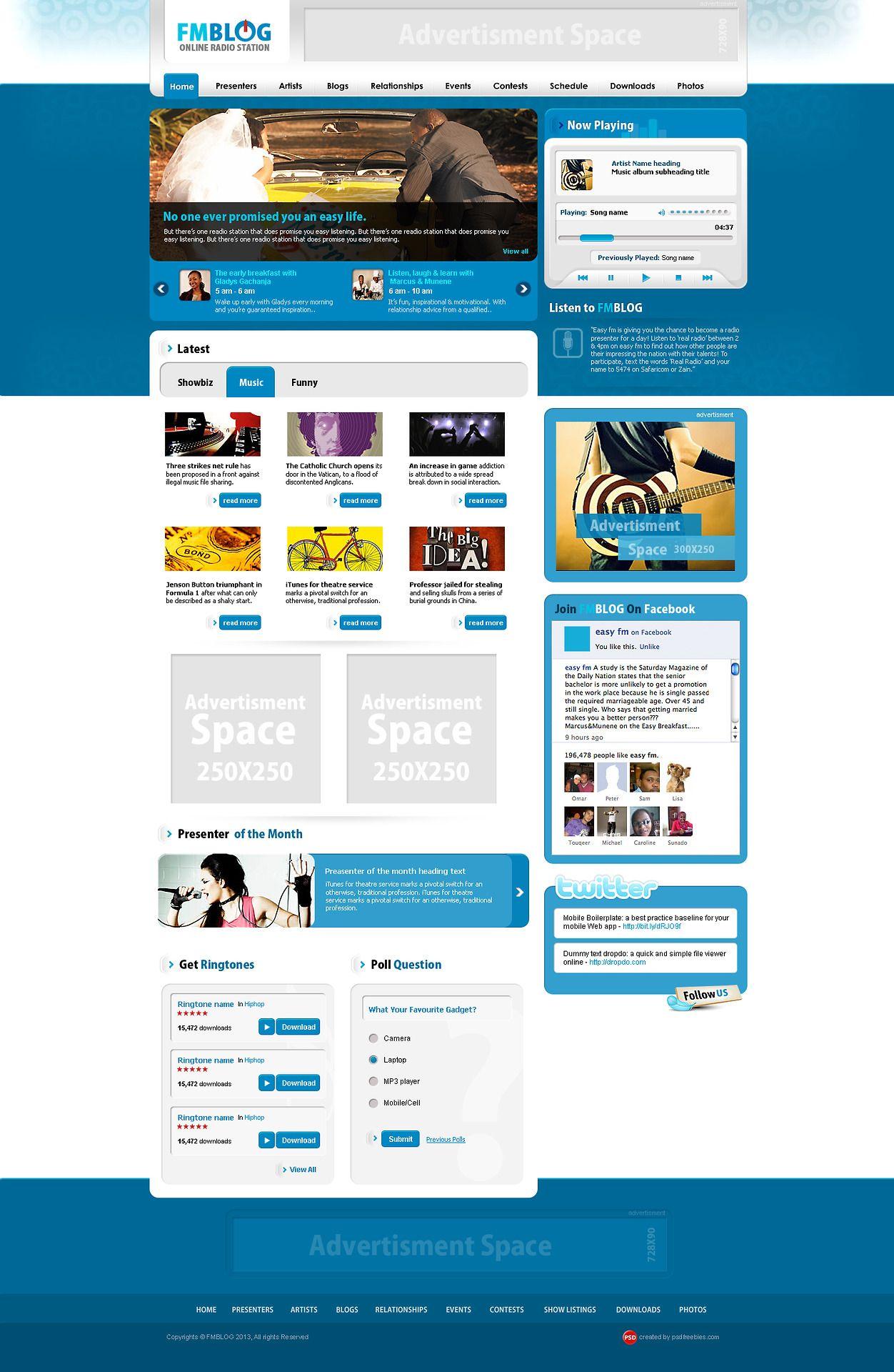 Free Blog Psd Template Free Psd Template Website Web Design Freebies Psd Template Free