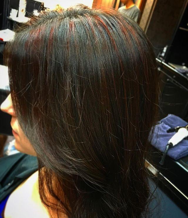 Red high lights  Taichi Suzuki  Tel 03-5574-8844  ネット予約 / Online reservation  https://ag5.power-k.jp/llogin/12/20/  Email taichi@hayatosalons.com Line ID KNP2020W  #美容師 #美容室 #カラー #外国人風 #外国人 #六本木 #髪 #ヘアーサロン  #hairsalon #hair #hairdresser #haircolor #haircut #highlight #blondehair #blonde #girl #love  #tokyo #japan #japanesestyle #englishok#goldwell#keratintreatment#hayatobeside#hayatobesideharajuku#hayatohakone#hayatosalons