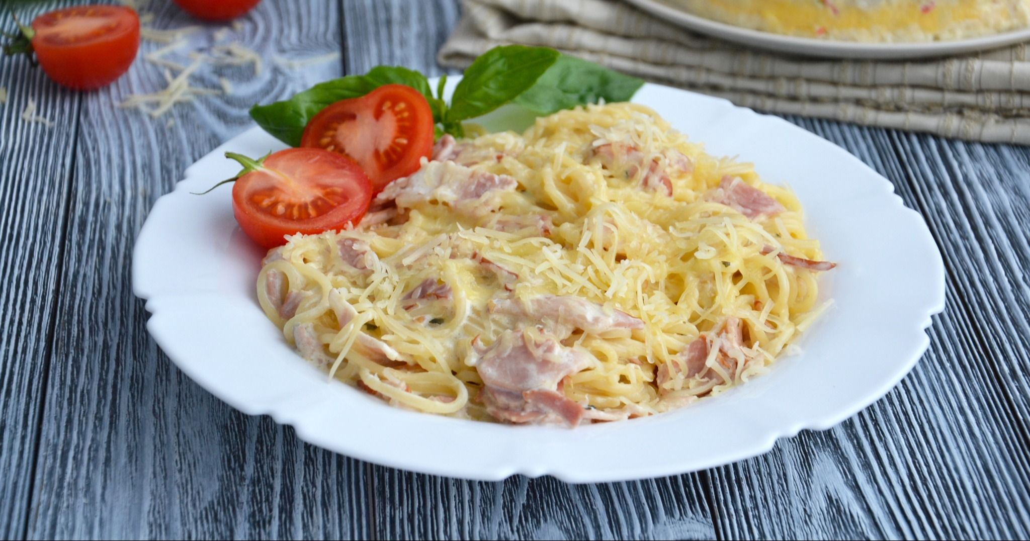 данный момент спагетти карбонара рецепт с фото в домашних территории