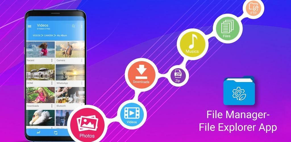 File Manager – File Explorer App v1 1 9 Full Paid APP